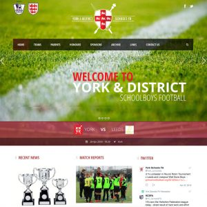 York school football