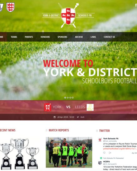 York school football