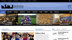 Sheriff Hutton Primary School Website Screenshot